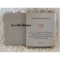 Nutrimetics nc colour intense Moisturising Lipstick SAMPLE - Cherry Soda