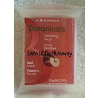 Nutrimetics Botanicals Exfoliating Soap - Red Apple 100g