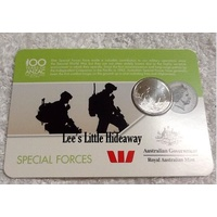 2016 Anzac to Afghanistan 20 cent coin - SPECIAL FORCES