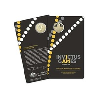 Invictus Games Sydney 2018 $1 coloured frosted uncirculated coin